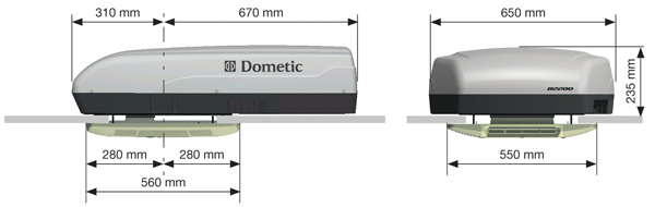Dometic b2200 air conditioner units