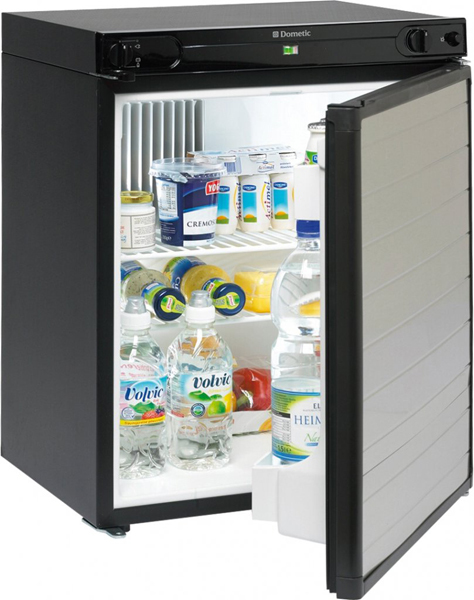 Caravan awning fridge