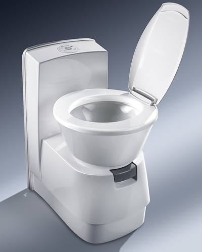 dometic CTW3110 caravan and motorhome cassette toilet swivel seat