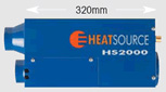 Propex Heatsource HS2000 heater length