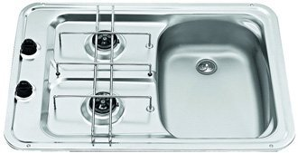 Smev MO917R caravan sink and cooker hob combination right hand version