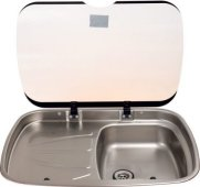 Argent spinflo sink for use in caravans motorhomes