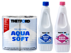 Thetford Chemical Toilet Triple Pack