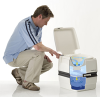 Thetford porta potti flush diagram