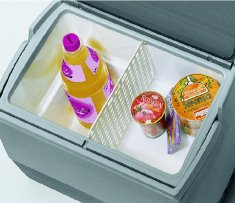 The Waeco CDF-18 compressor Cool Box is adaptable for storing, cooling or freezing a variety of food and drink.