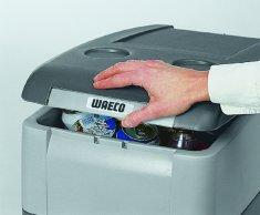 Waeco CoolFreeze CDF-25 Cool Box Freezer features a detachable fold up lid