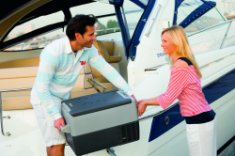 The Waeco CF-35 compressor Cool Box would make a perfect addition to sailing trips.