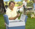The Waeco W48 Cool  box is ideal for use at barbecues or picnics