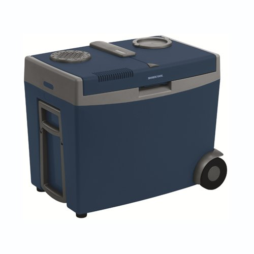Waeco W35 mobile Cool Box with rear wheels.