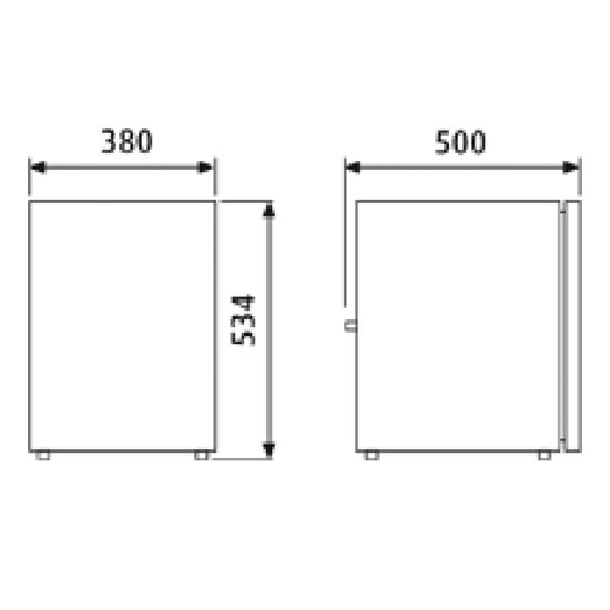 cr-50 campervan fridge dimensions