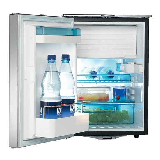 waeco cr50 fridge with open door